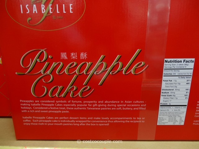 Isabelle Pineapple Cake Costco 3