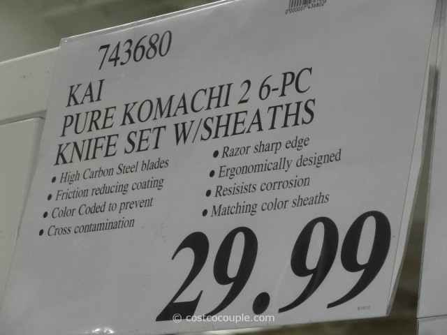 Kai Pure Komachi 2 Kitchen Knife Set Costco 5