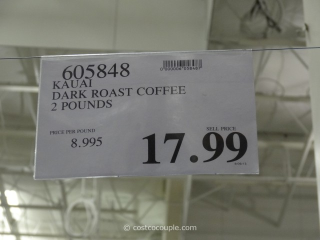 Kauai Dark Roast Coffee Costco 1