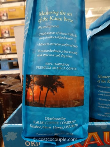 Kauai Dark Roast Coffee Costco 4