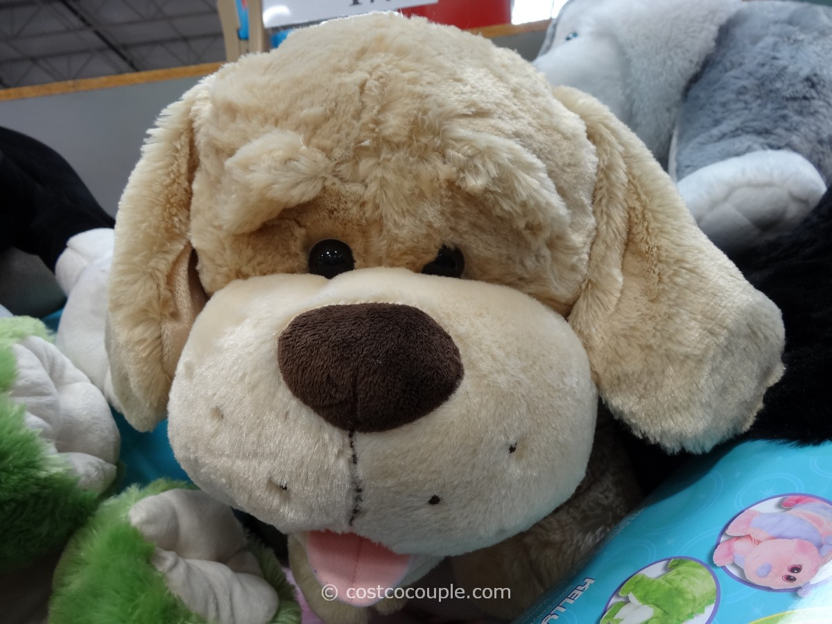Animal Pillow Chum Dog : Do you think this is a cute stuffed animal dog? I can t decide if... - YouBeMom.com