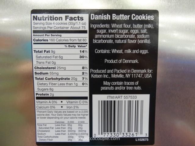 Kelsen Danish Butter Cookies Costco 2