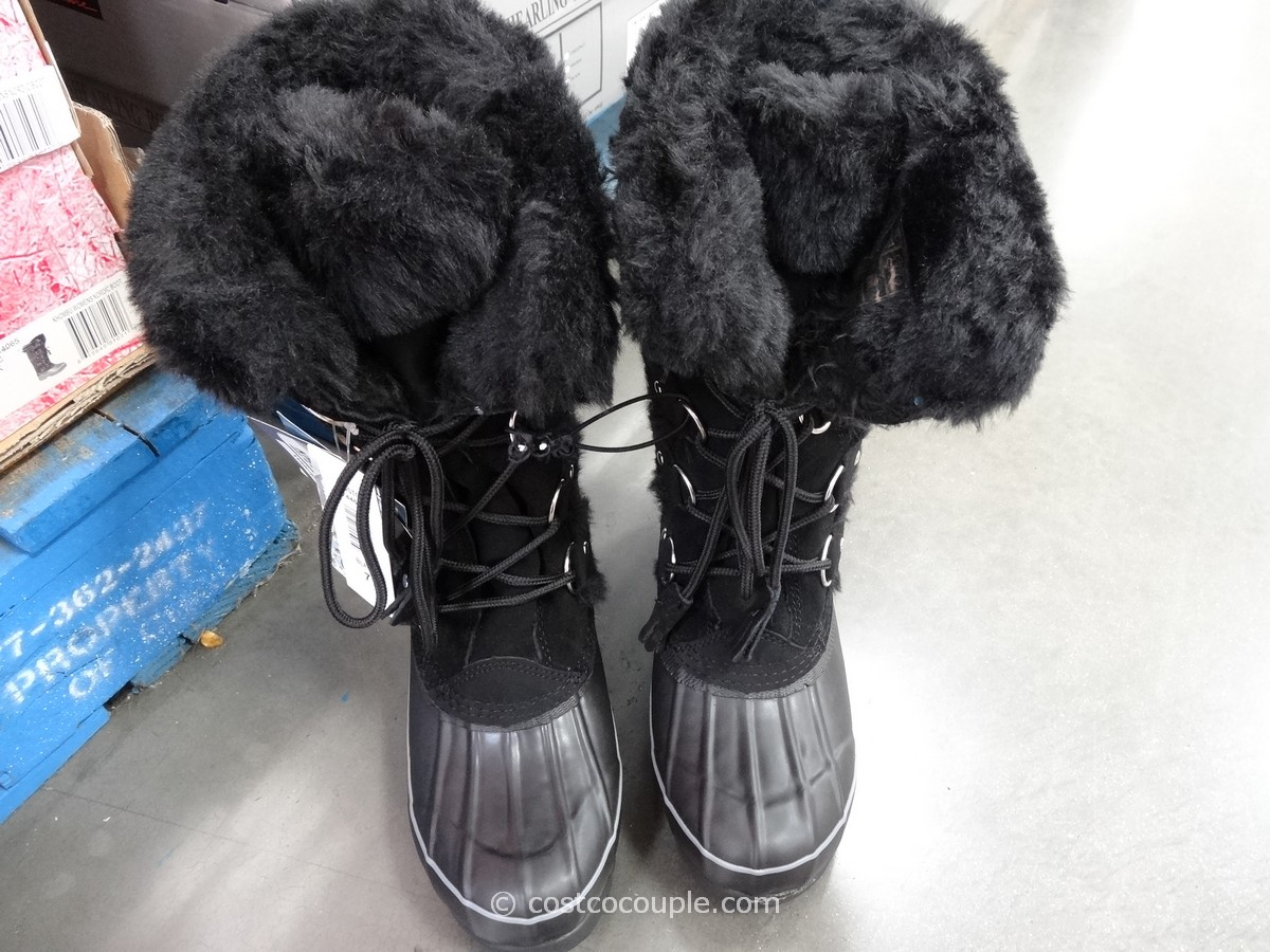 Khombu Ladies Nordic Boot Costco 1