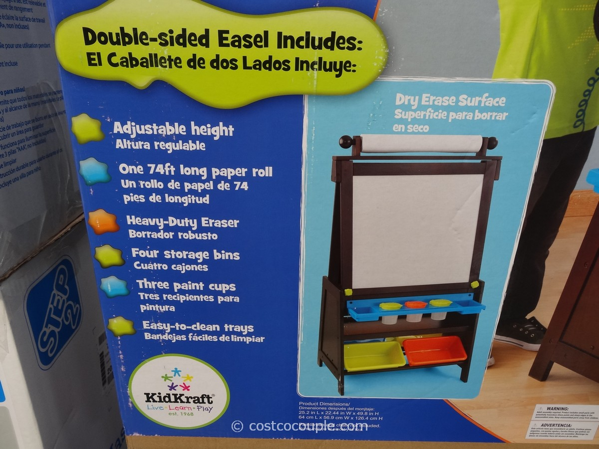 KidKraft Grand Storage Easel Costco 2 ...