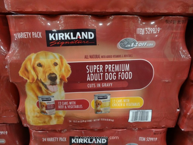 Kirkland Signature Cuts and Gravy Dog Food Costco 2