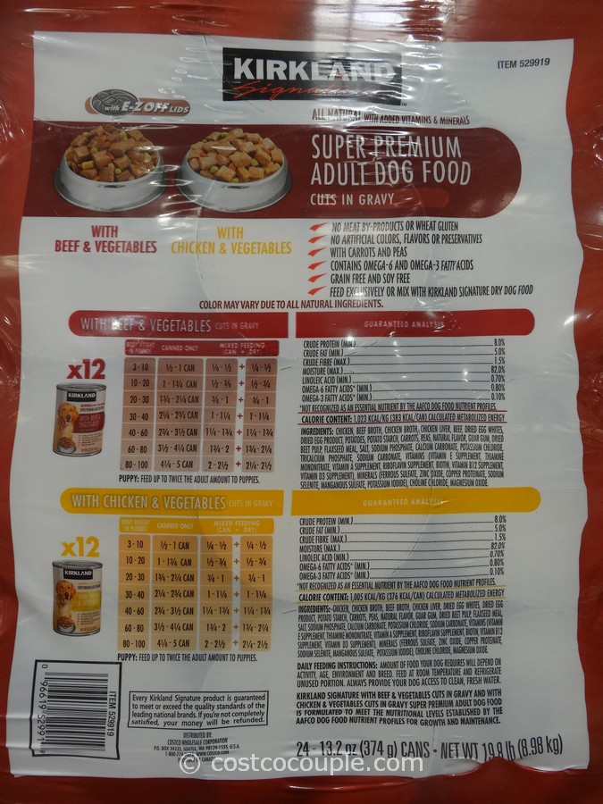 Kirkland Signature Mature Dog Food Review