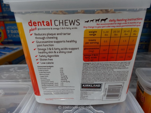 Kirkland Signature Dental Chews Costco 2