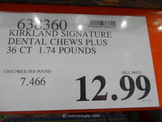 Kirkland Signature Dental Chews Costco 4