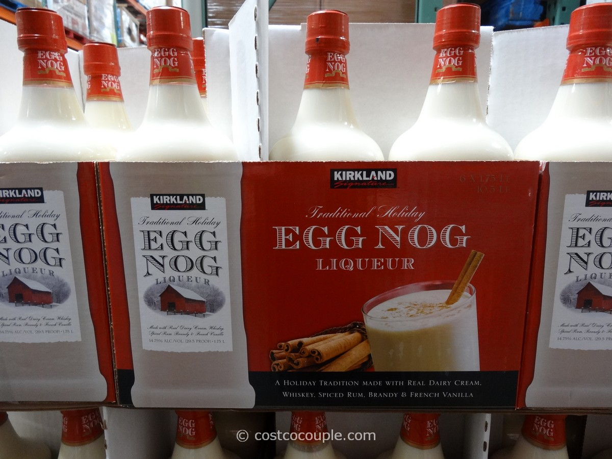 Kirkland Signature Egg Nog Costco 1