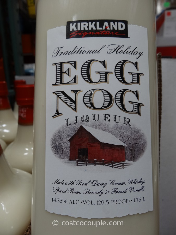 Kirkland Signature Traditional Holiday Egg Nog Liqueur