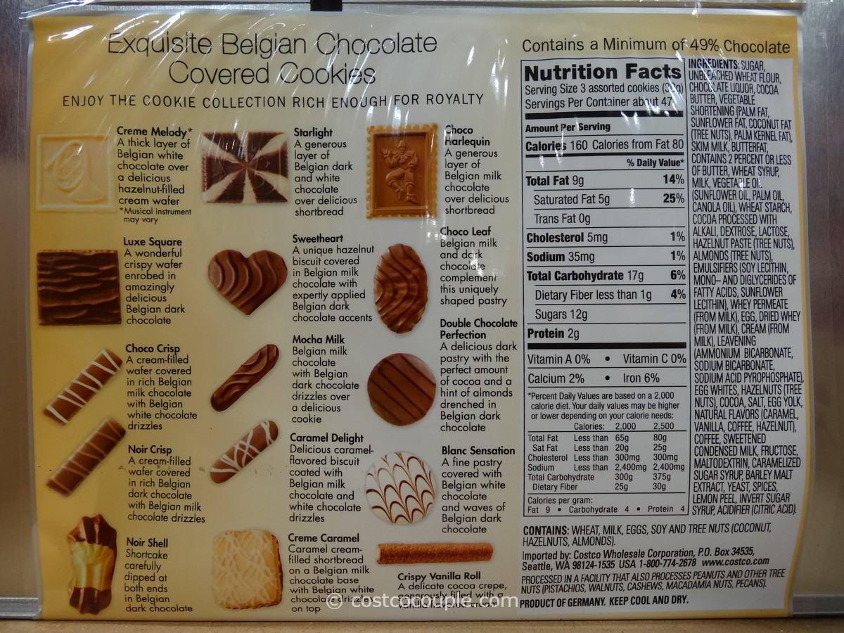 Kirkland Signature European Cookies