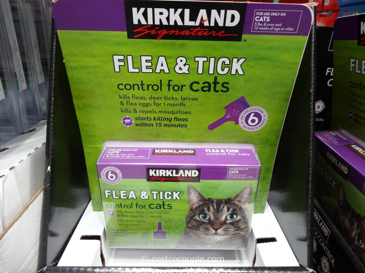 Kirkland Signature Flea and Tick Control for Cats Costco 2