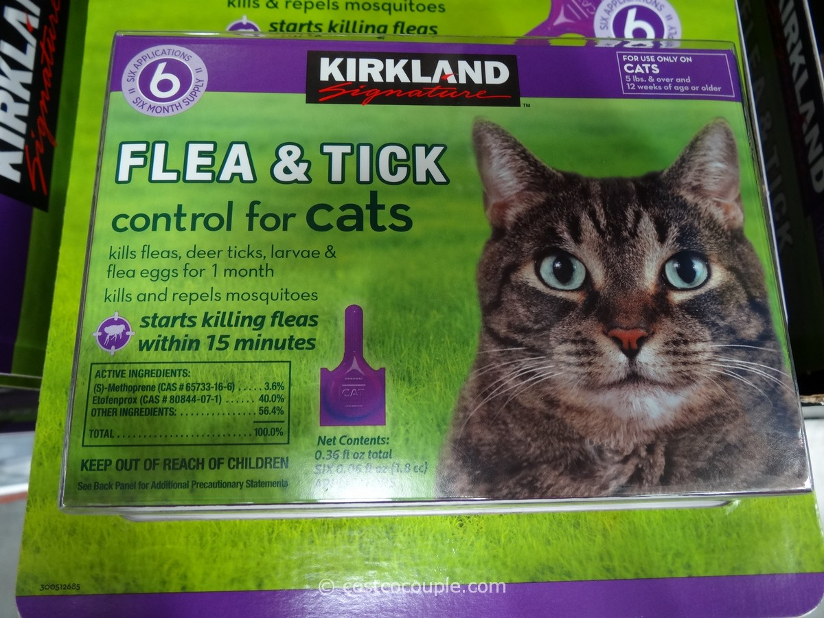Kirkland Signature Flea And Tick Control For Cats