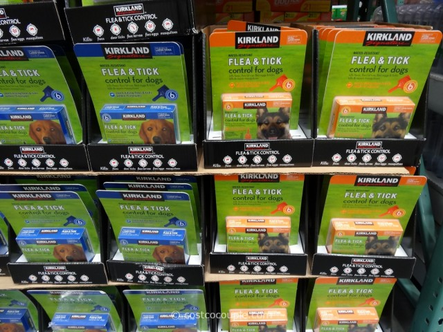 Kirkland Signature Flea and Tick Control for Dogs Costco 2
