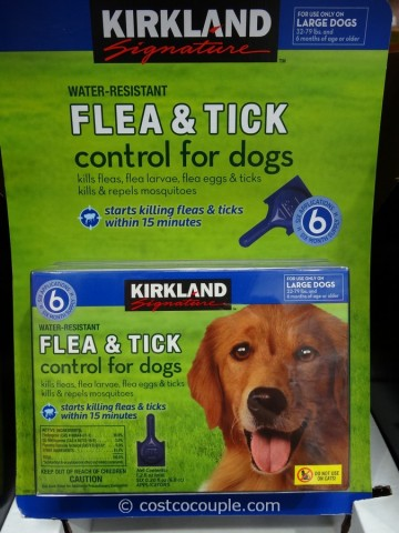 Kirkland Signature Flea and Tick Control for Dogs Costco 3