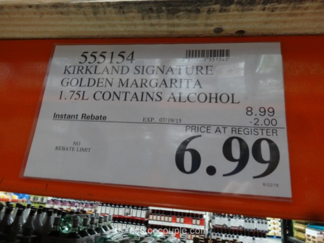 Kirkland Signature Golden Margarita Costco 3