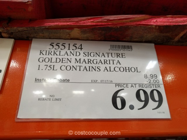 Kirkland Signature Golden Margarita Costco