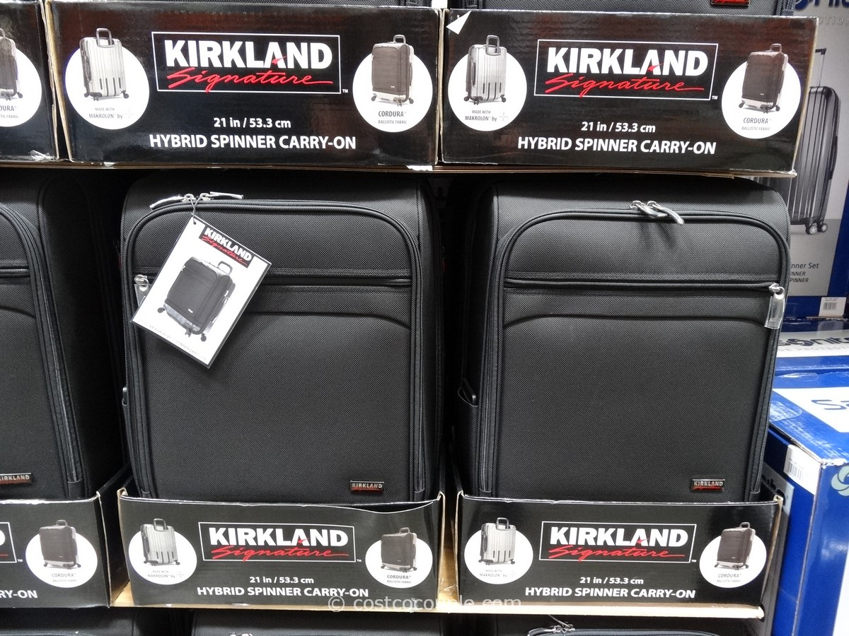 Kirkland Signature Hybrid Carry On Spinner Costco 10