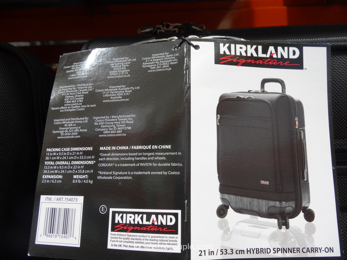 Kirkland Signature Hybrid Carry On Spinner