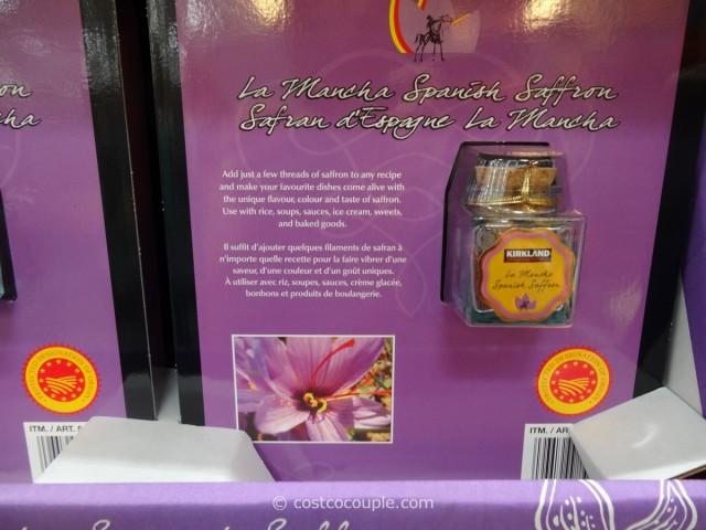 Kirkland Signature La Mancha Saffron Costco 1