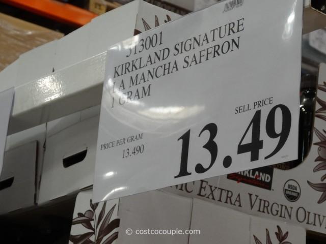 Kirkland Signature La Mancha Saffron Costco 3
