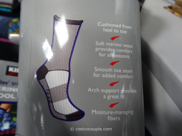 Kirkland Signature Ladies Merino Wool Socks Costco 2