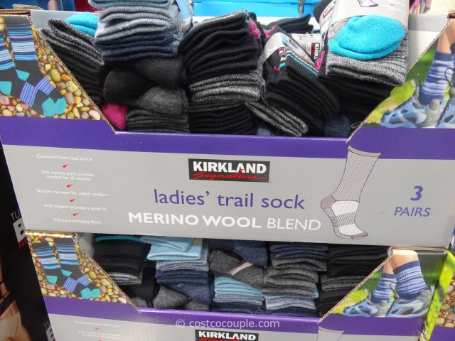 Kirkland Signature Ladies Merino Wool Socks Costco 4