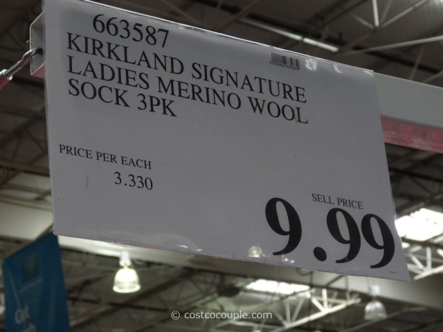 Kirkland Signature Ladies Merino Wool Socks Costco 5