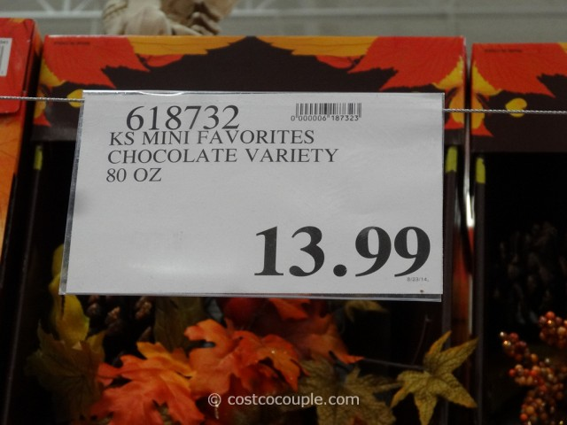 Kirkland Signature Mini Favorites Chocolate Variety Costco 1