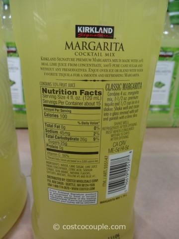 Kirkland Signature Premium Margarita Mix Costco 3