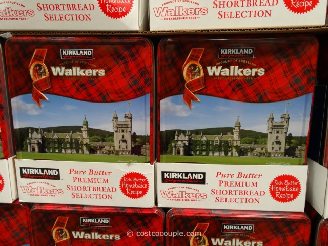 Kirkland Signature Walkers Premium Shortbread Costco 1
