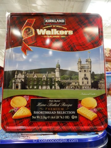 Kirkland Signature Walkers Premium Shortbread Costco 2