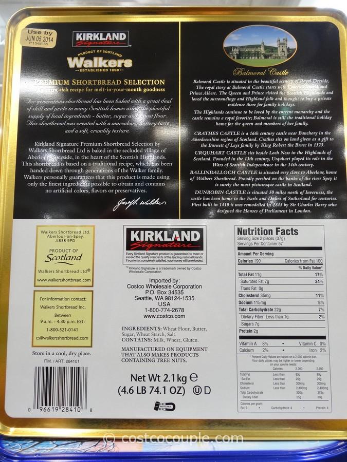 Kirkland Signature Walkers Premium Shortbread