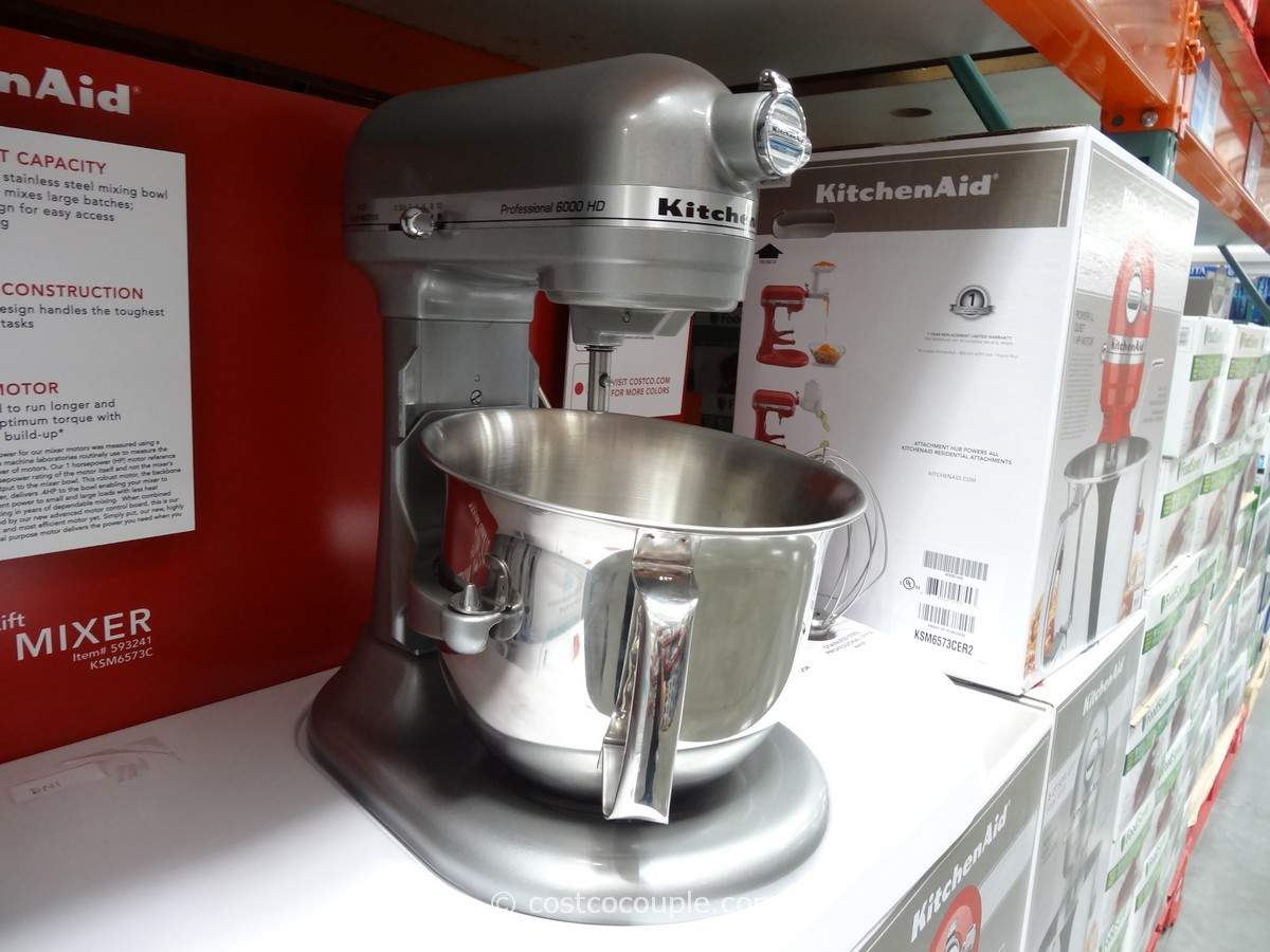 KitchenAid 6 Qt Stand Mixer Costco 2