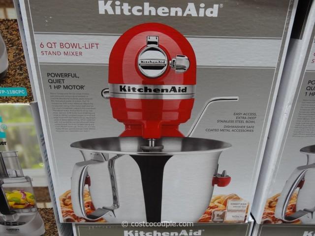 Kitchenaid 6 Qt Stand Mixer