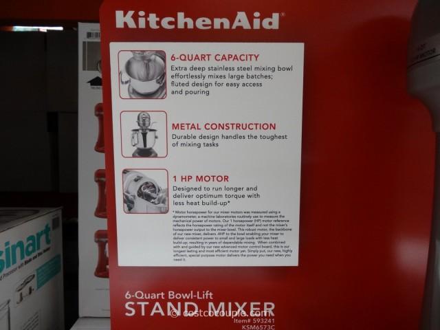 KitchenAid 6 Qt Stand Mixer Costco 4
