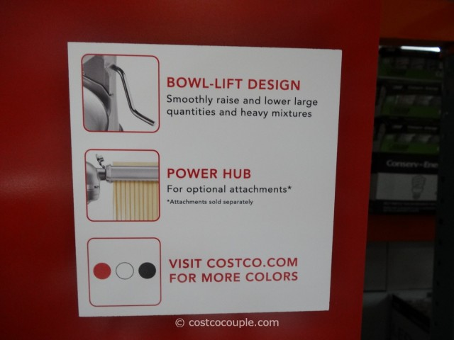 KitchenAid 6 Qt Stand Mixer Costco 5