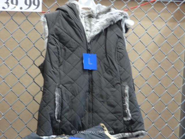 Kristen Blake Ladies Reversible Faux Fur Vest Costco 2