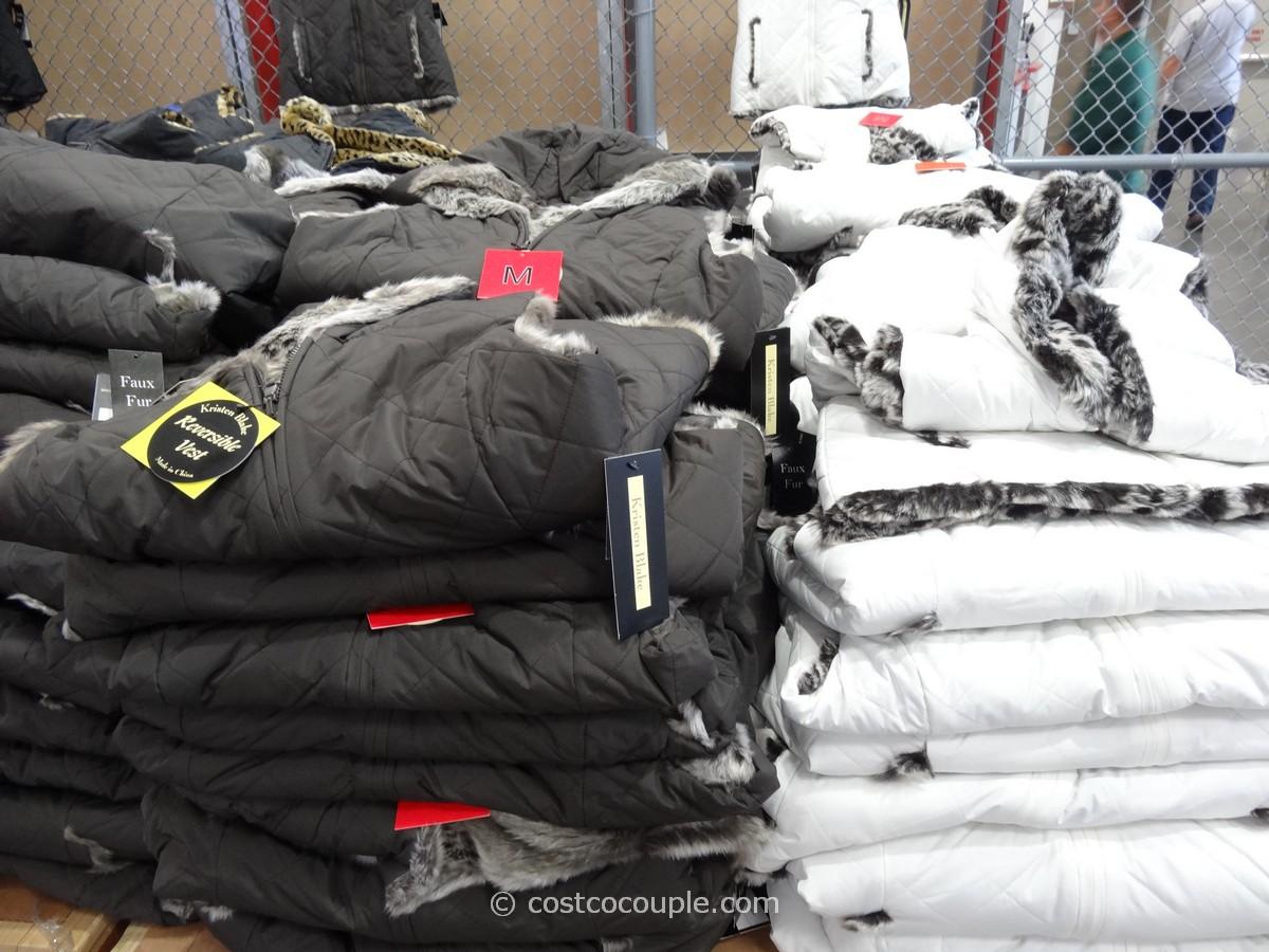 6a5b05a2c118 Kristen Blake Ladies Reversible Faux Fur Vest Costco 5