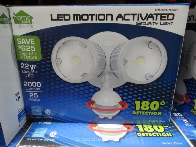 LED Motion Activated Security Light Costco 1