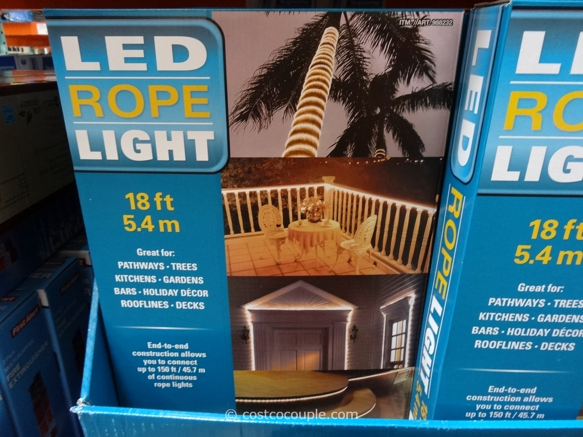 LED Rope Light Costco 1