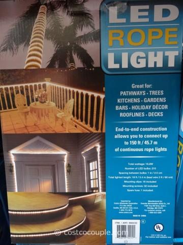 LED Rope Light Costco 2