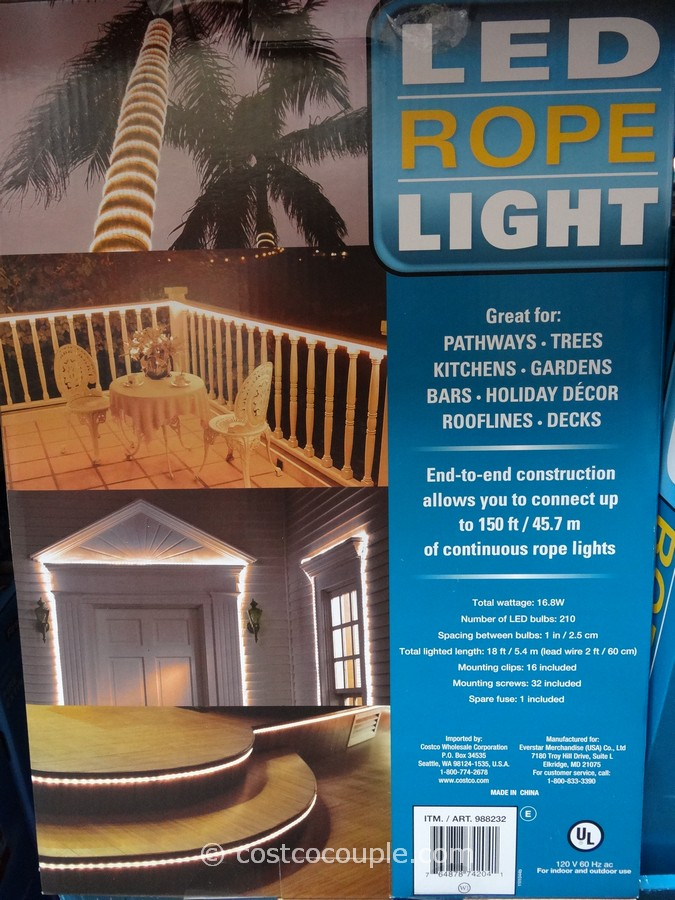 the led rope light is priced at. Black Bedroom Furniture Sets. Home Design Ideas