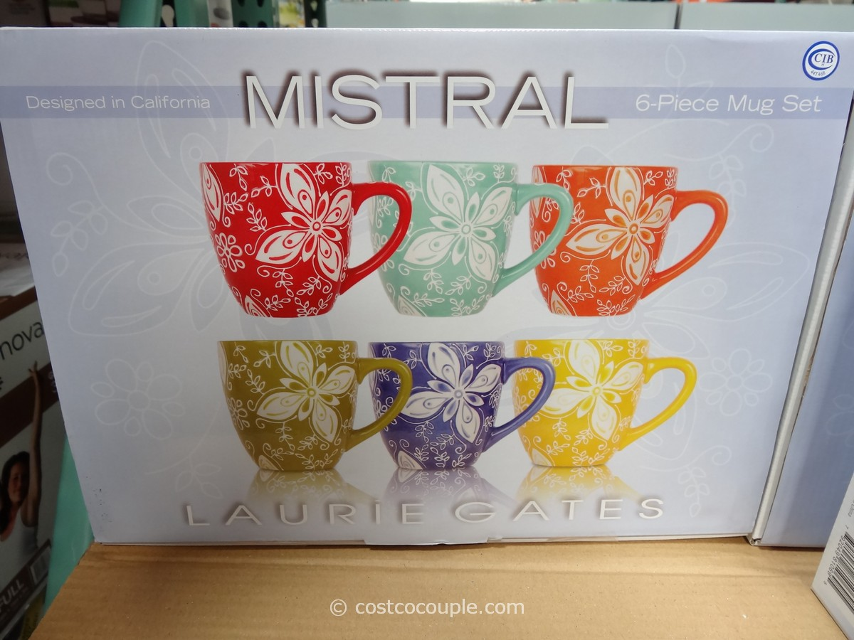 Laurie Gates Mistral Ceramic Mug Set