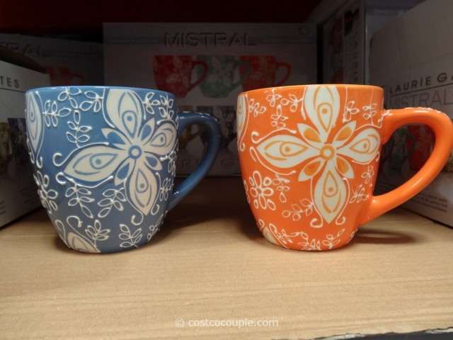 Laurie Gates Mistral Ceramic Mug Set Costco 4
