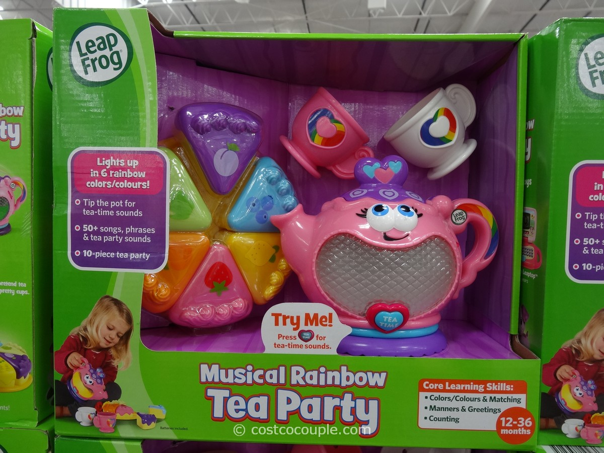 Leap Frog Musical Rainbow Tea Party Costco 2