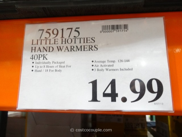Little Hotties Hand Warmers Costco 1