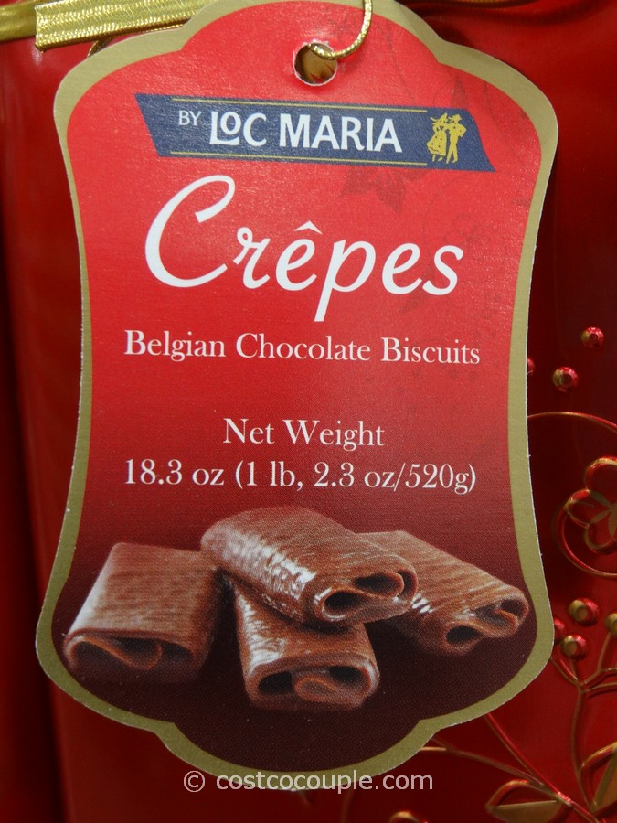 Loc Maria Belgian Chocolate Crepes
