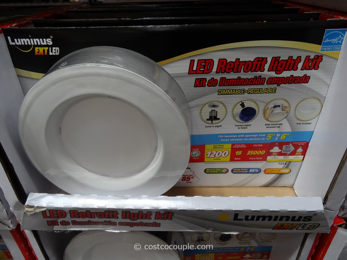 Luminus LED Retrofit Kit Costco 2