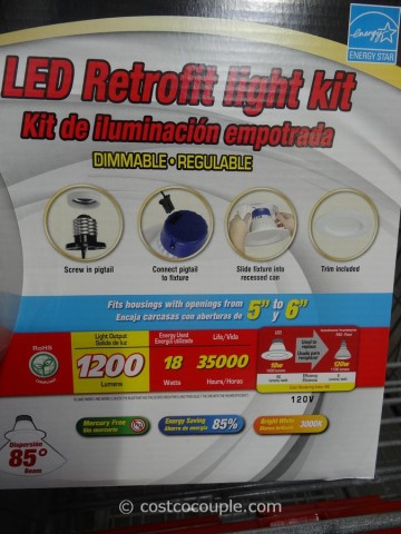 Luminus LED Retrofit Kit Costco 4